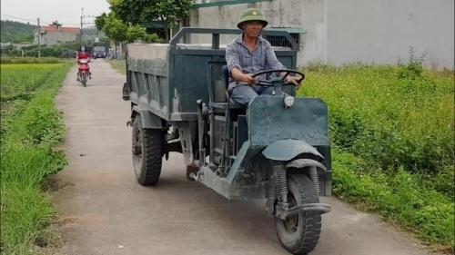 xe công nông chở nông sản