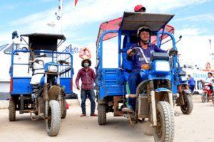 Xe lôi ba bánh chở hàng quy chuẩn giá rẻ – phân phối toàn quốc