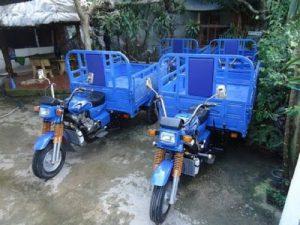 Xe ba bánh chở hàng Trung Quốc có được tự do lưu thông?