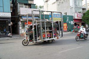 xe ba bánh chở hàng