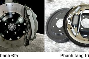 Phanh cơ và phanh đĩa – lựa chọn nào cho xe ba gác chở hàng