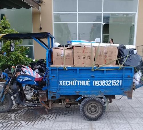 xe ba gác chở hàng, chở đồ